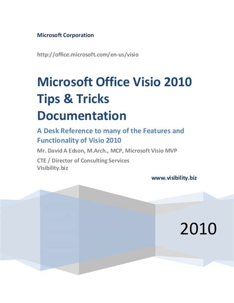 microsoft visio tips visio 2010 tips and techniques handouts