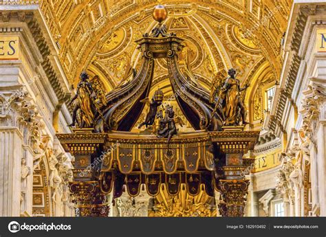bernini baldacchino basilica bernini baldacchino vaticano roma italia di san
