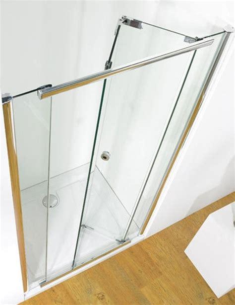 Bi Fold Shower Door 900mm Kudos Infinite 900mm Bi Fold Shower Door With Tray And Waste