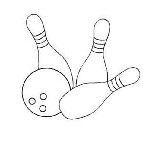coloring pages bowling balls pins bowling balls and pins coloring page