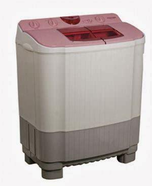 Mesin Cuci 1 Tabung Merk Polytron murah kredit mudah mesin cuci top loading 2 tabung