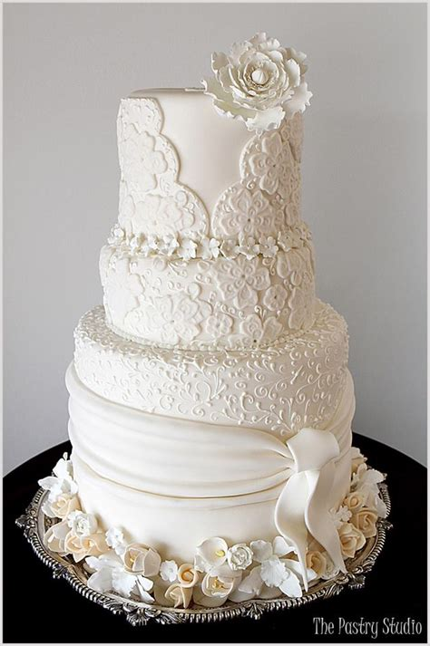 Wedding Cake Design by Brilliant Wedding Cakes From The Pastry Studio Modwedding
