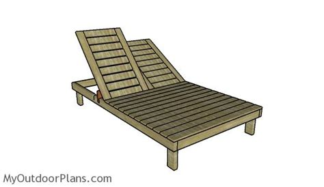 Wooden Chaise Lounge Chair Plans by Chaise Lounge Plans Myoutdoorplans Free