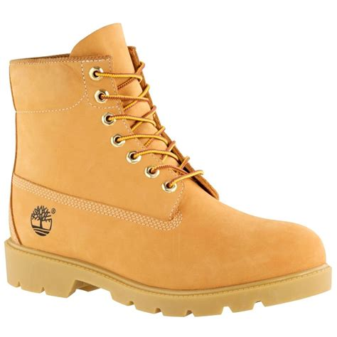 mens timberland boots fashion timberland s 6 quot basic waterproof work wheat boots