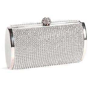 silver clutch bag ebay clutch bag clothes shoes accessories ebay