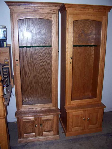 6 gun upright cabinet custom designed to your specifications