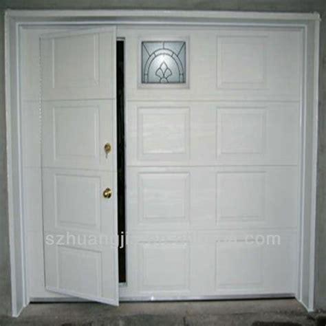 remote galvanized steel pass through garage door