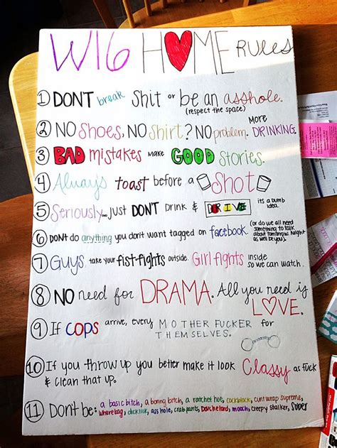 college appartment 25 best ideas about roommate rules on pinterest
