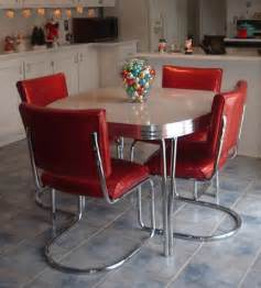 Retro Dining Table And Chairs Set Vintage Dining Chairs Chair Pads Cushions