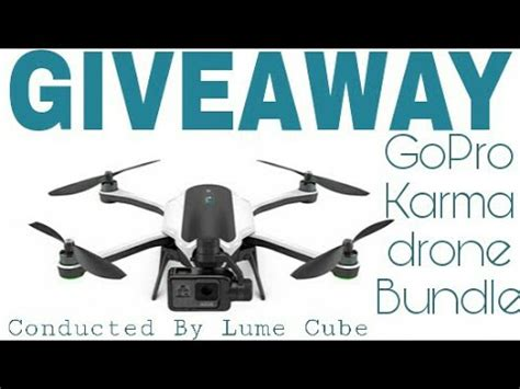 Gopro Karma Giveaway - gopro karma drone package international giveaway by lume cube youtube