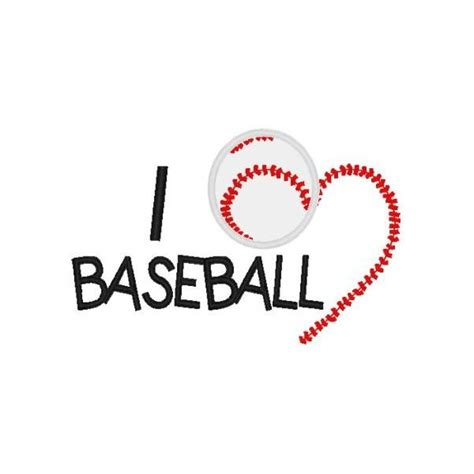 Love Baseball Mega Hoop Design Nobbieneezkids Baseball Designs