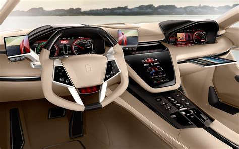 luxury cars interior car interiors wallpaper 2560x1600 car interiors giugiaro