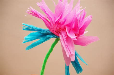 How To Make Paper Mexican Flowers - how to make mexican paper flowers 9 steps wikihow