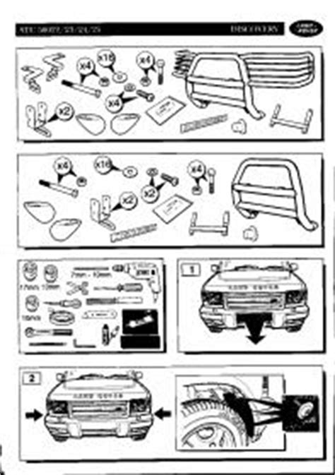 Discovery II Bull Bar Installation Instructions - Post #1