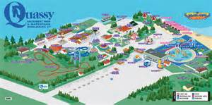 map of parks quassy amusement park map plan your visit quassy ct