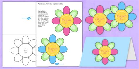 mothers day cards templates ks2 s day flap flower card template mothers day