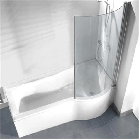 curved shower screens for corner baths p shaped shower bath pack with curved shower screen