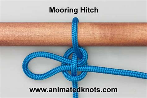 quick boat knots mooring hitch tying step by step interactive animation home
