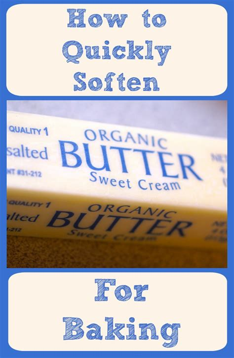 how to soften butter how to quickly soften butter for baking imaginacres