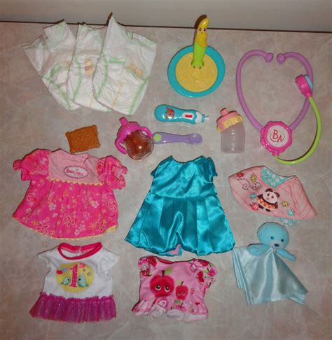 In The Bottle By Maxcyber Cloth baby alive clothes lot c dress clothes bottle cookie