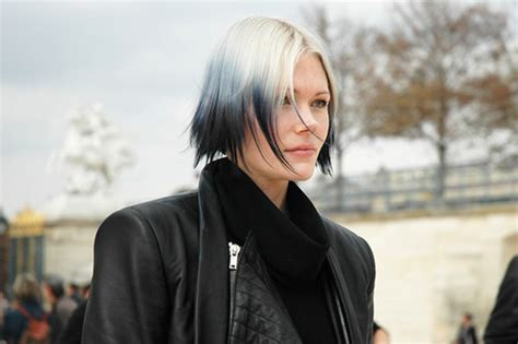 black and white color hairstyles white black and gray hair colors ideas