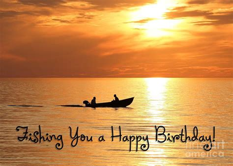boat fishing birthday digital art by jh designs - Fishing Boat Birthday Images