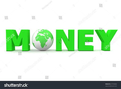 5 Letter Words Green green word money 3d globe replacing stock illustration