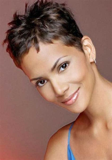 halle berry short haircuts  images short
