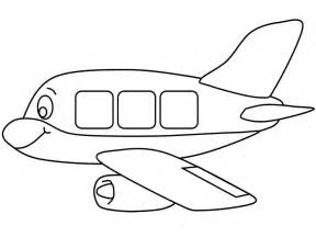 Aeroplanes colouring pages page 2