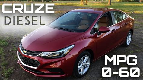 Chevy Cruise Diesel by 2017 Chevrolet Cruze Diesel Manual 0 60 Mph Review