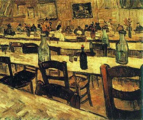 L Painting by Vincent Gogh The Paintings Interior Of A Restaurant