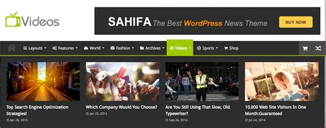sahifa theme mobile view the 5 cs of a magazine style website sony simon