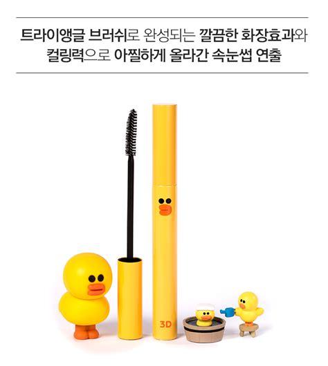 Missha Line Friends Mascara 3d line friends x missha 3d mascara sally mkm 韓國化妝品mkm 韓國化妝品