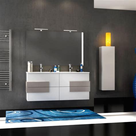mobili bagno per lavabo con colonna mobile bagno moderno doppio lavabo 120 cm bianco con
