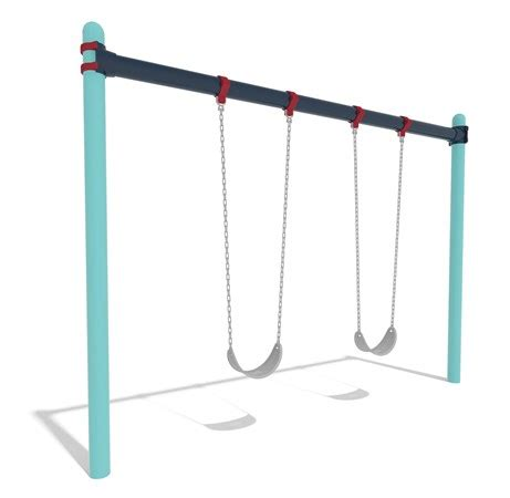 single post swing set single post swings economically designed space saving