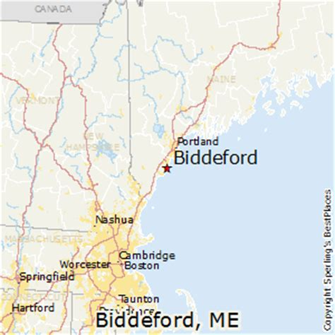 map of biddeford maine best places to live in biddeford maine