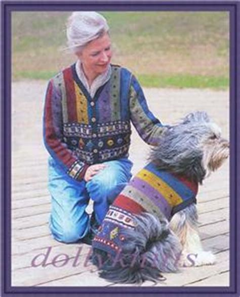 matching sweaters for and owner knitting pattern for and owner matching sweaters ebay