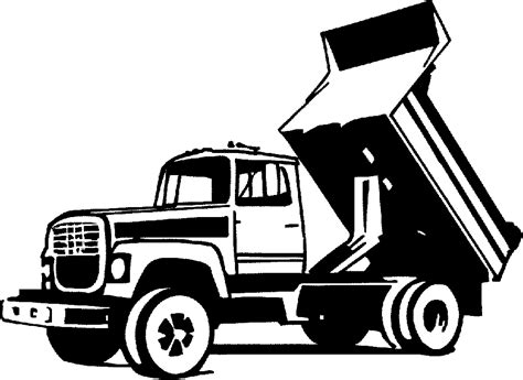 Dump Truck Logo Templates By by Image Dump Truck Clipart Best