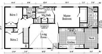 Ranch Style Homes Floor Plans by Hanover Ranch Style Modular Home Pennwest Homes Model S