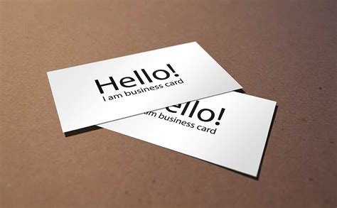 tips for business cards brilliant business cards choosing a design will