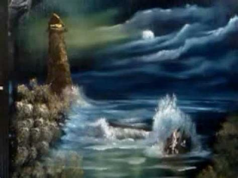 bob ross painting lighthouse painting a lighthouse t willis