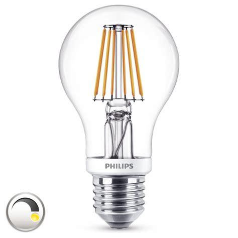 led leuchtmittel dimmbar philips led leuchtmittel klar dimmbar e27 7 5 w 60 w
