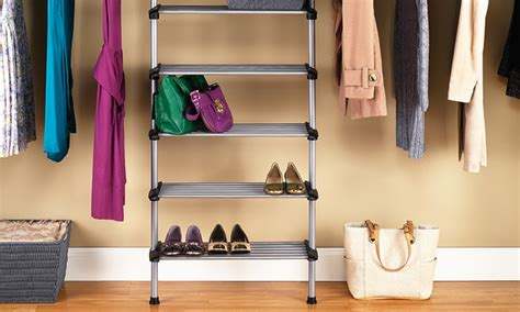 Whitmor Closet System by Whitmor Sophisticate 6 Shelf Closet System Groupon