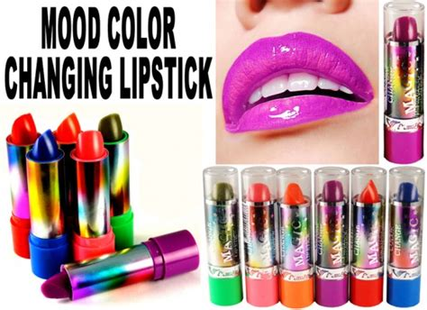 Lipstick Colormood lipstick color changes depending on your mood tips makeup guides geniusbeauty