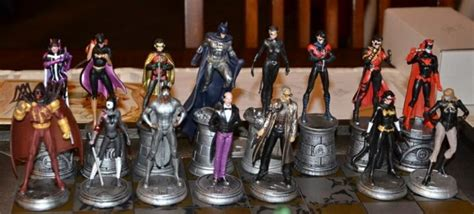 chess pieces set up