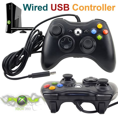 360 for pc wired xbox 360 controller usb gamepad joypad for microsoft