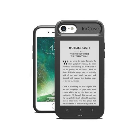 inkcase e ink second screen for iphone 8 7 6s 6 expansys singapore