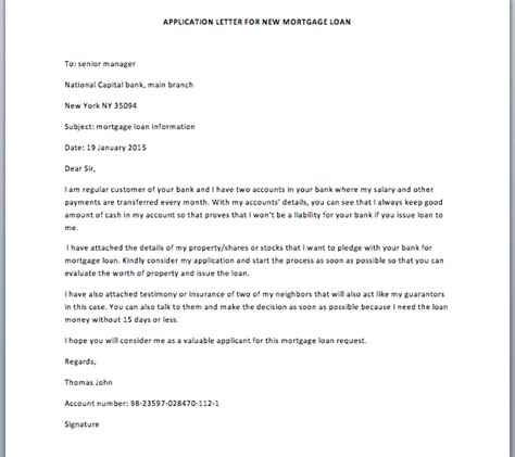 Mortgage Servicing Welcome Letter Request Letter Format In Bank