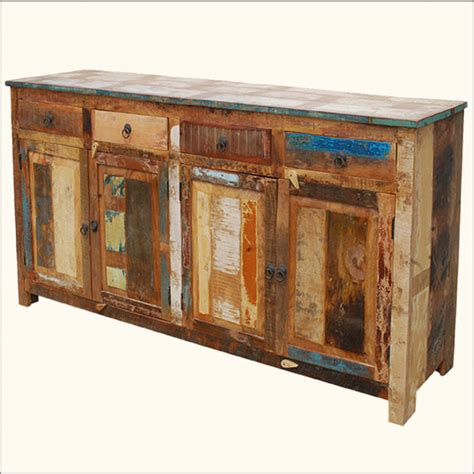 Salvaged Furniture by Reclaimed Wood Furniture Dining Room