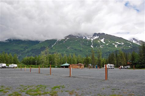 Portage Valley Cabins And Rv Park by Two Rv Gypsies At Portage Valley Rv Park In Whittier Alaska
